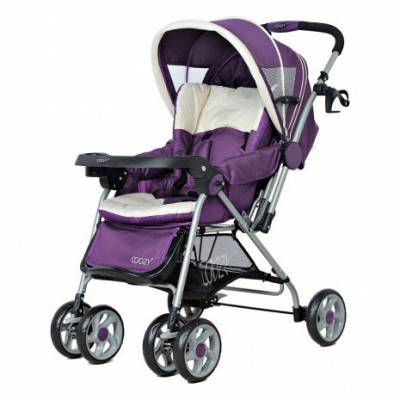 Xe đẩy cho bé Coozy Amory 206 - Purple