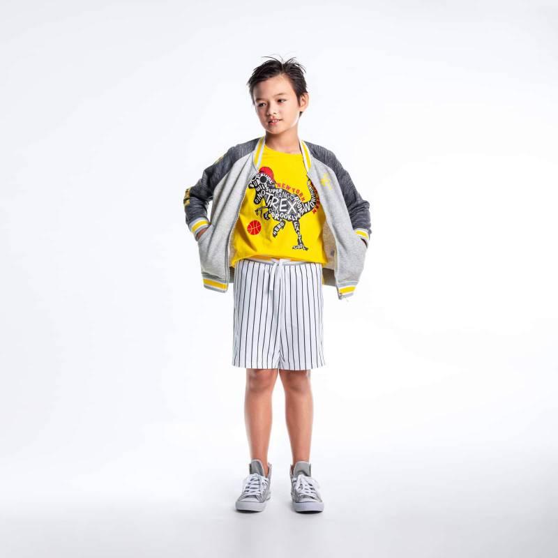 Áo khoác bé trai-Bomber bóng chày MDK